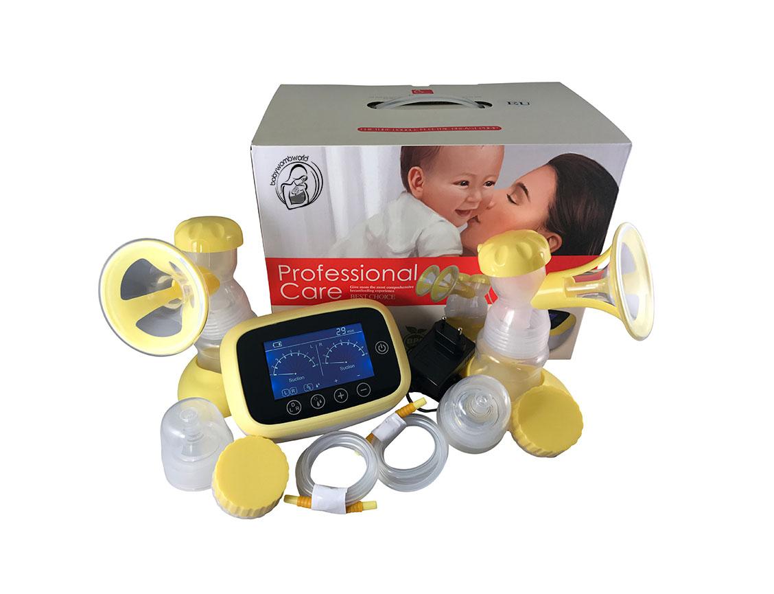 Horigen Double Electric Breast Pump - Babywombworld-2352
