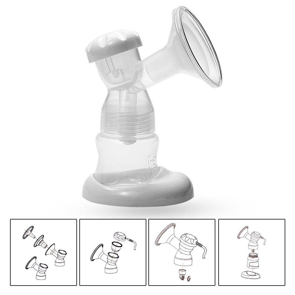 Single Electric Breast Pump - Babywombworld-9057