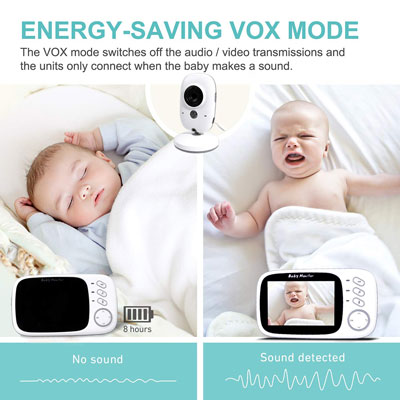 two way audio baby monitor