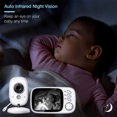 baby monitor night vision