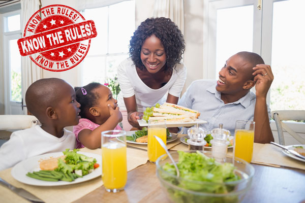 House Rules for Healthier Habits in Children