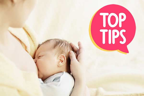 Tips for expressing breast milk